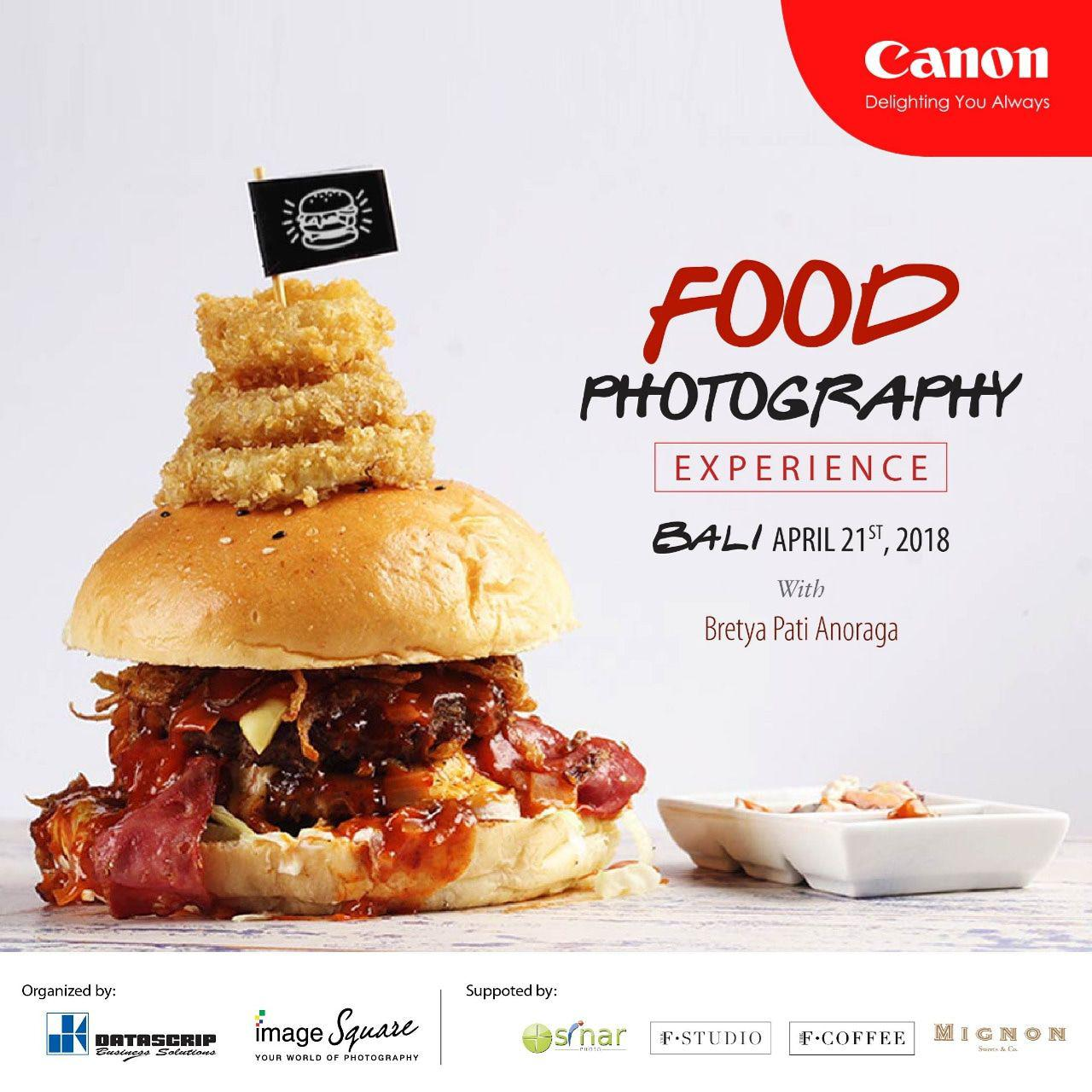 Food Photography Experience - Bali 2018