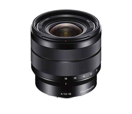 Sony Lens E-Mount 10-18mm F4 OSS