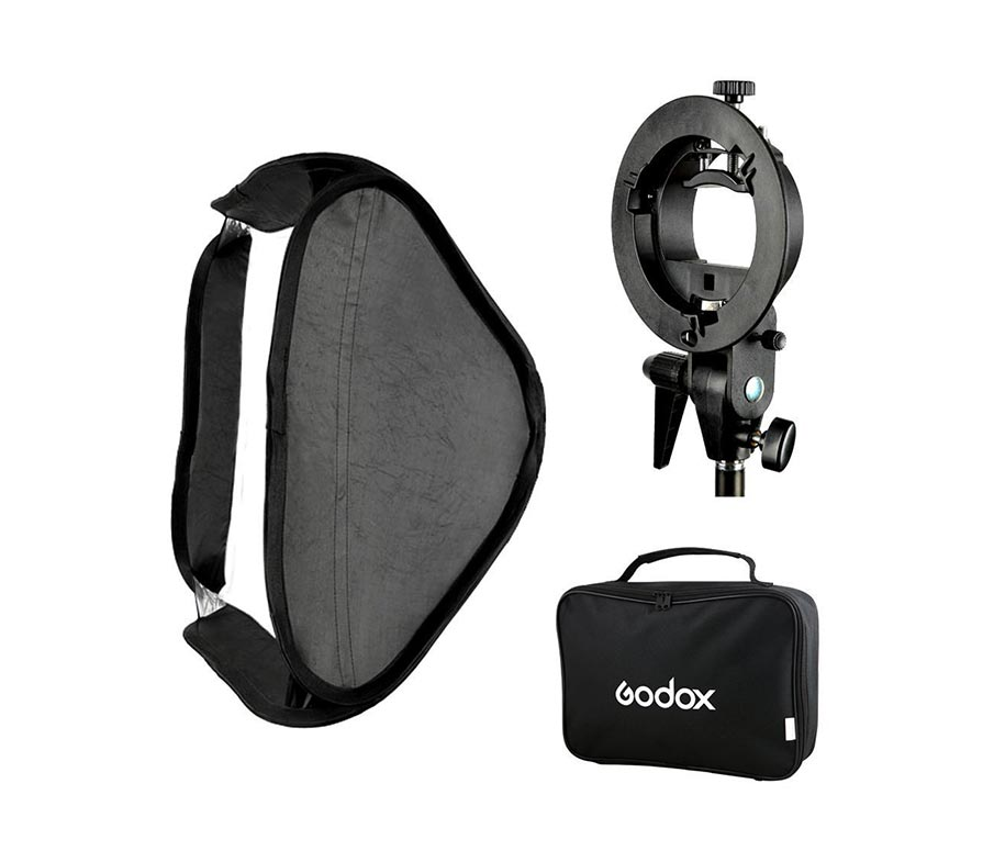 GODOX S-Type Bracket with Softbox 40x40cm