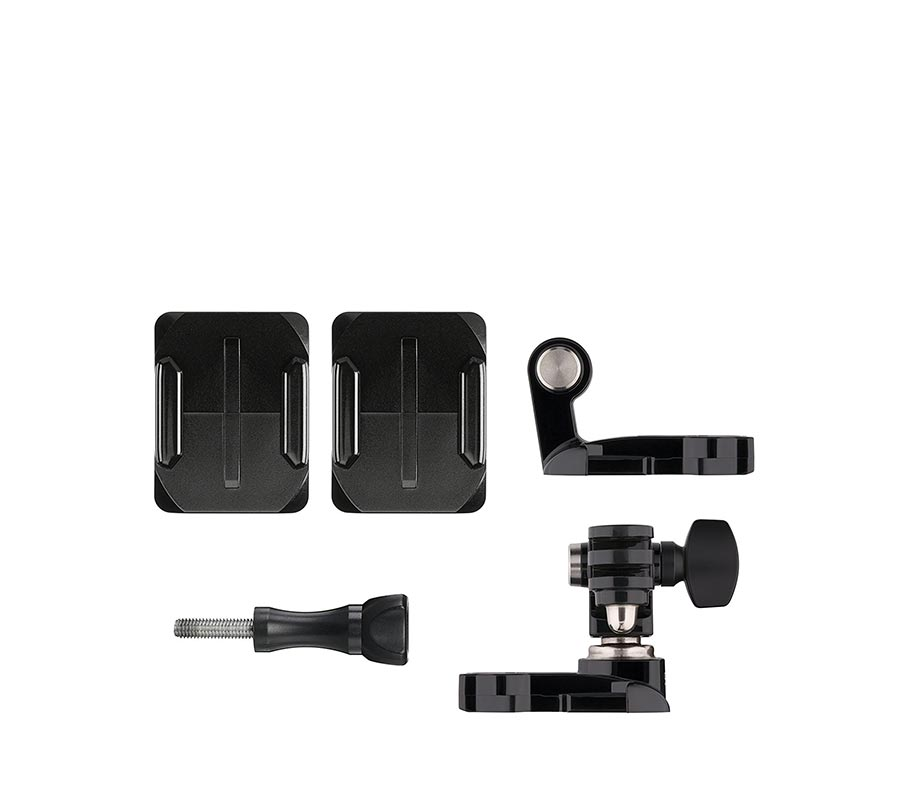 GoPro Helmet Front plus Side Mount