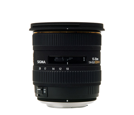 Sigma Lens 10-20mm F4-5.6 EX For Canon DC HSM