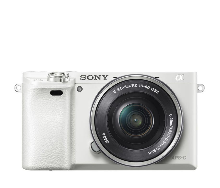 Sony Alpha 6000 16-50mm White