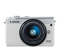 Canon EOS M100 EF-M 15-45 IS STM White