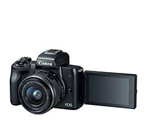 Canon EOS M50 EF-M15-45 IS STM Black
