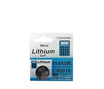 Maxell Battery CR 2016