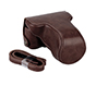 MYER Leather Case for EOS M10 Coffee