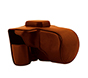 MYER Leather Case for XT2 with Bat Brown