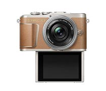 Olympus E-PL9 ED 14-42mm Brown Silver