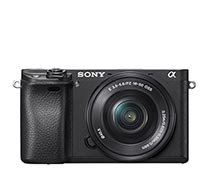Sony Alpha 6300 16-50mm Black,SD 16GB