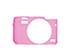 MYER Silicon Case For EOS M10 Pink