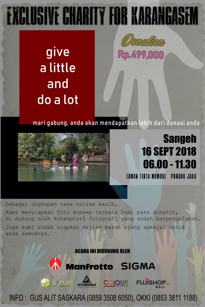 Exclusive Charity for Karangasem