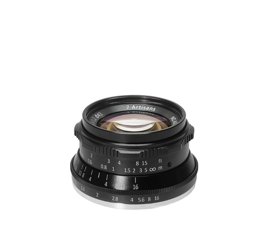 7Artisans Lens 35mm F1.2 For Fuji-X Black