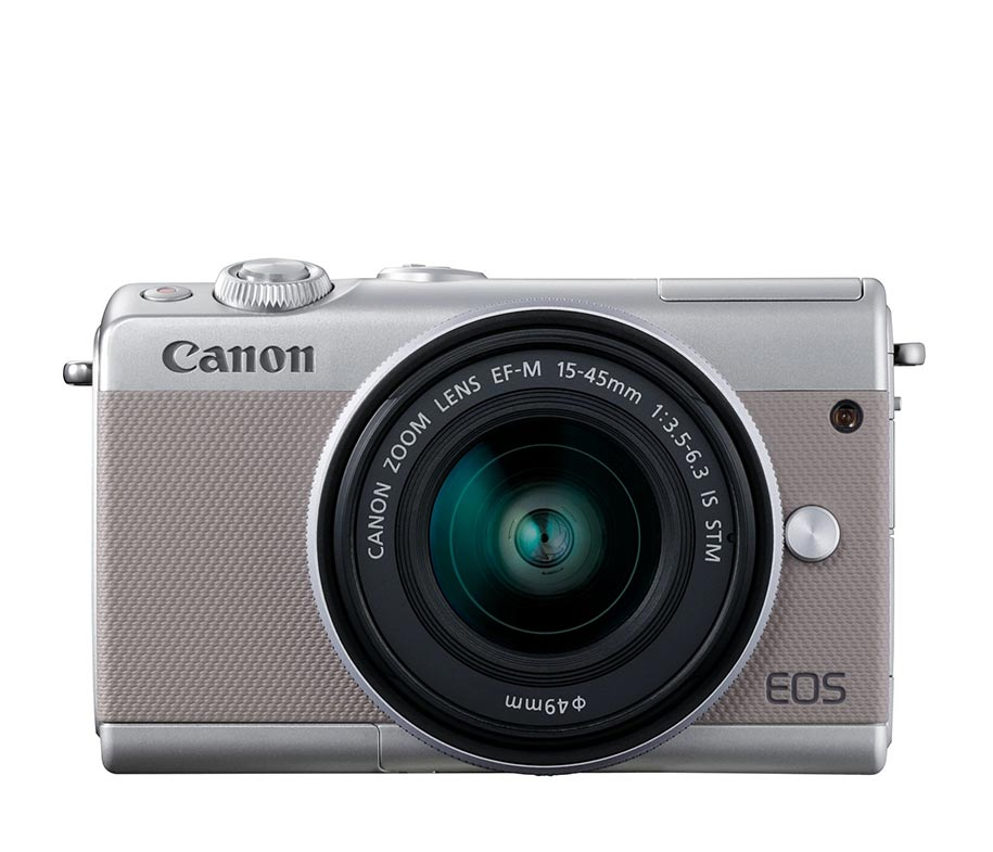 Canon EOS M100 EF-M 15-45 IS STM Grey