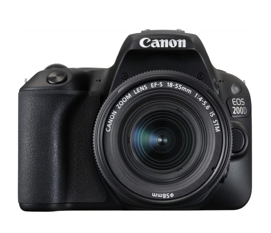 Canon EOS 200D 18-55mm STM Black