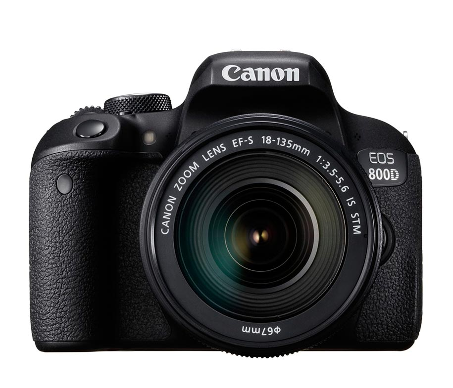 Canon EOS 800D EF-S 18-135mm IS STM Wifi