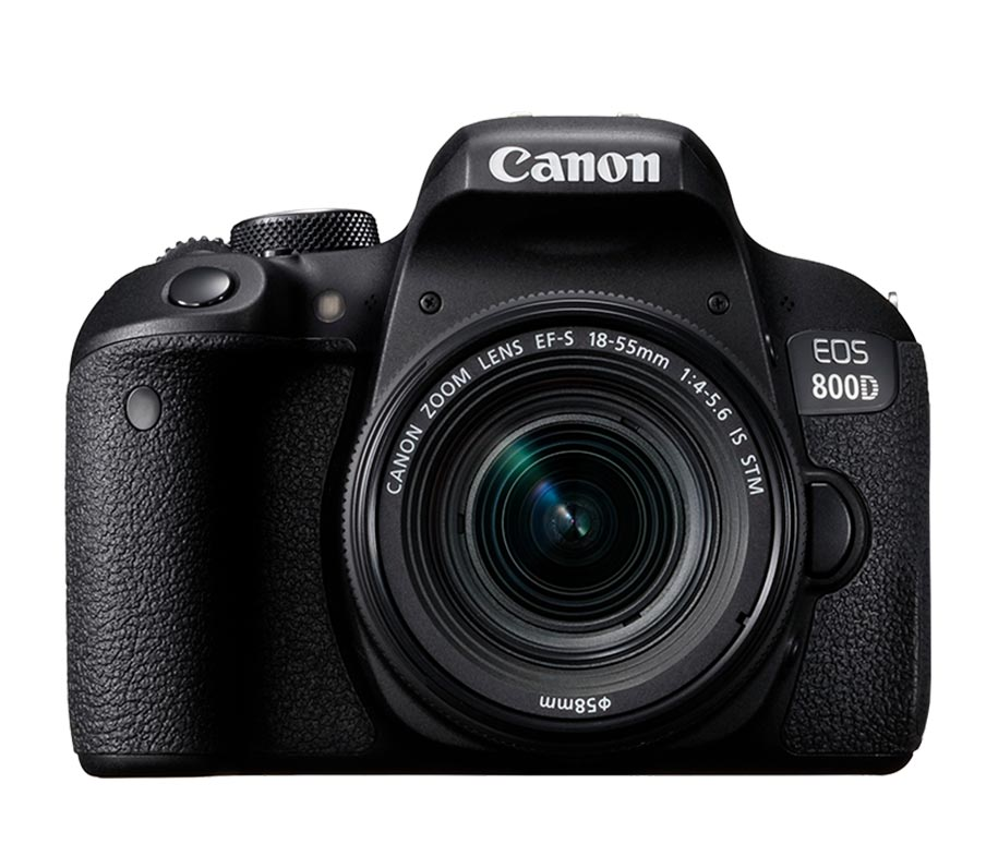 Canon EOS 800D EF-S 18-55mm IS STM Wifi