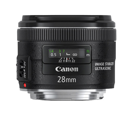 Canon Lens EF28mm f/2.8 IS USM