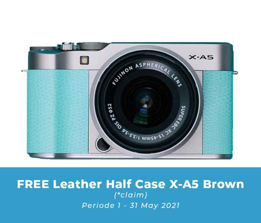 Fujifilm X-A5 XC15-45mm OIS PZ Mint Green