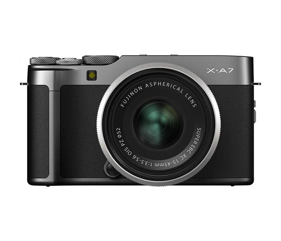 Fujifilm X-A7 15-45mm Dark Silver