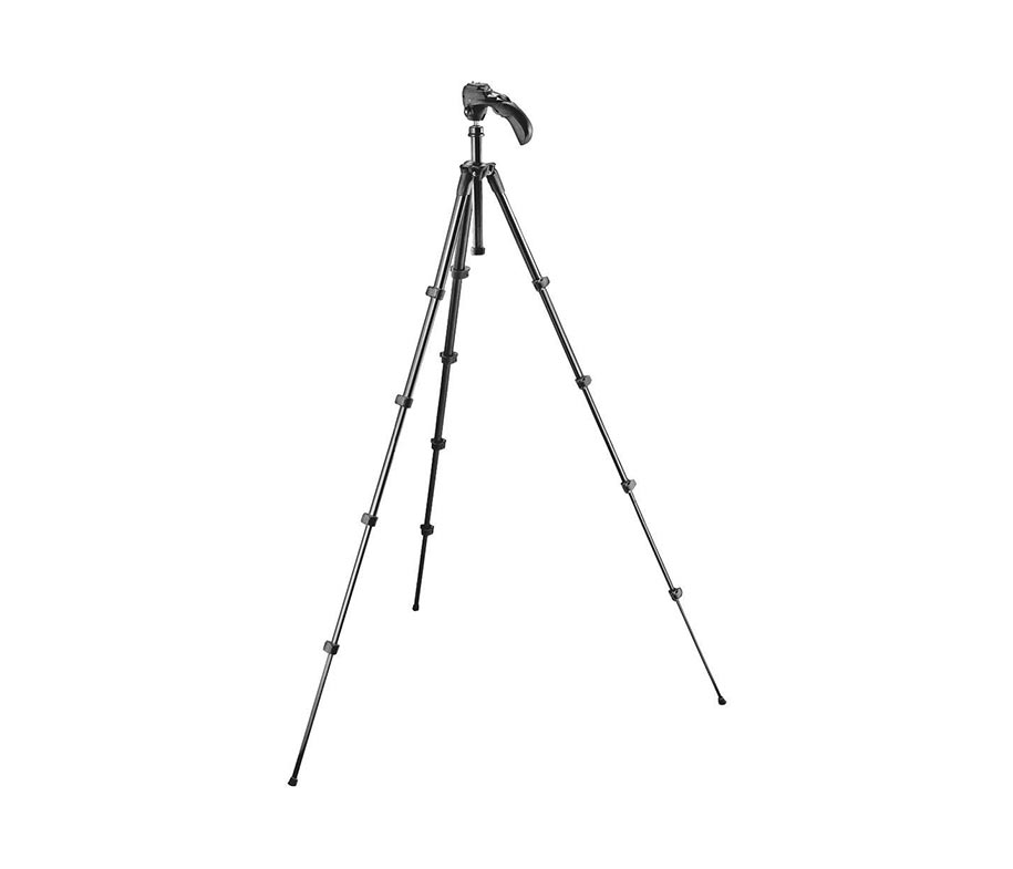 Manfrotto Tripod MKC3-H01 Compact Photo Movie