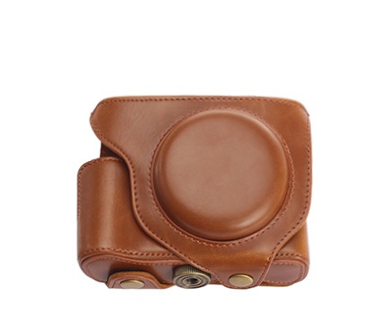 MYER Leather Case for Fuji X-70 Brown