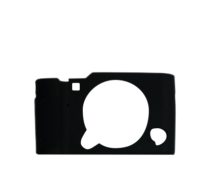 MYER Silicon Case For Fuji XA3 Black