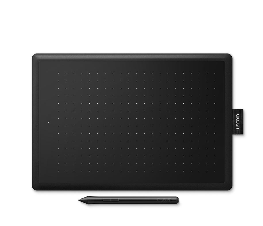 One by Wacom Redwood Small CTL-472/K0-CX - Sinar Photo