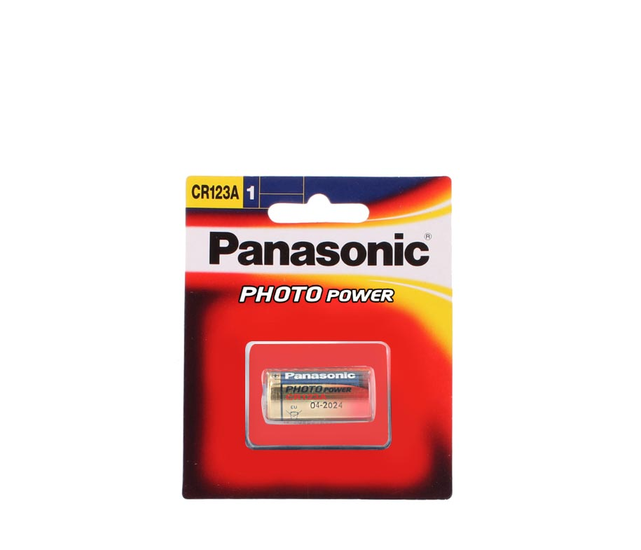 Panasonic Battery Lithium CR 123