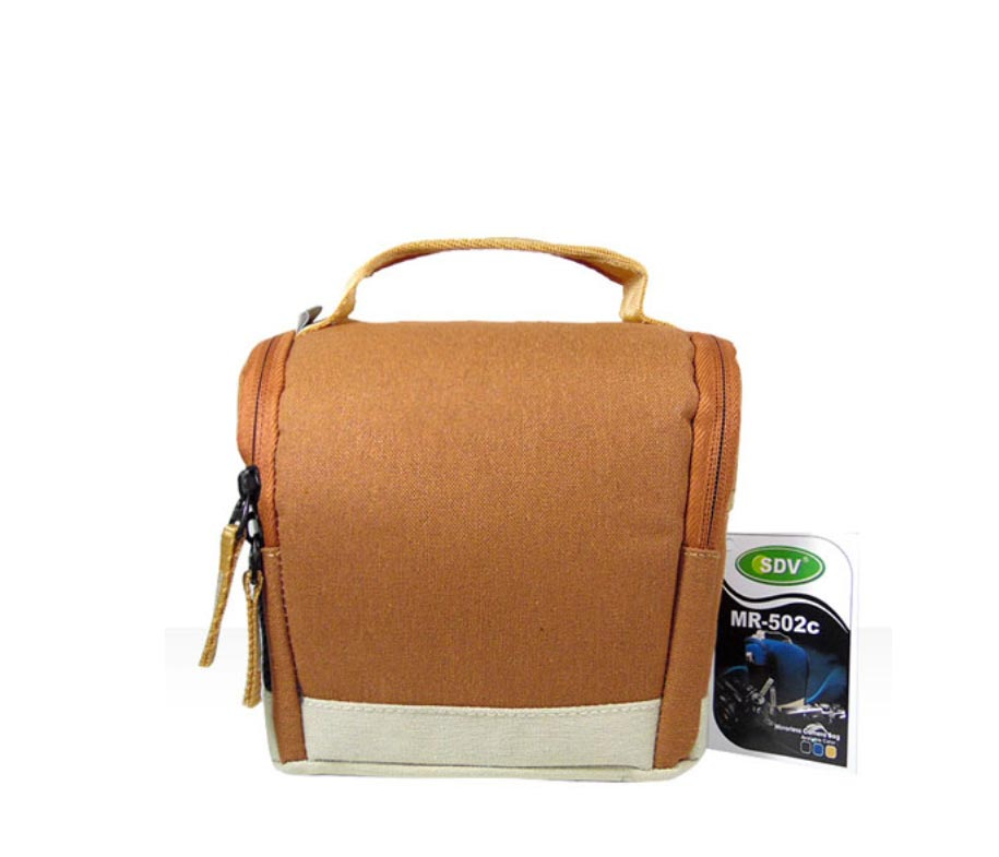 SDV Camera Bag MR 502 Canvas Brown