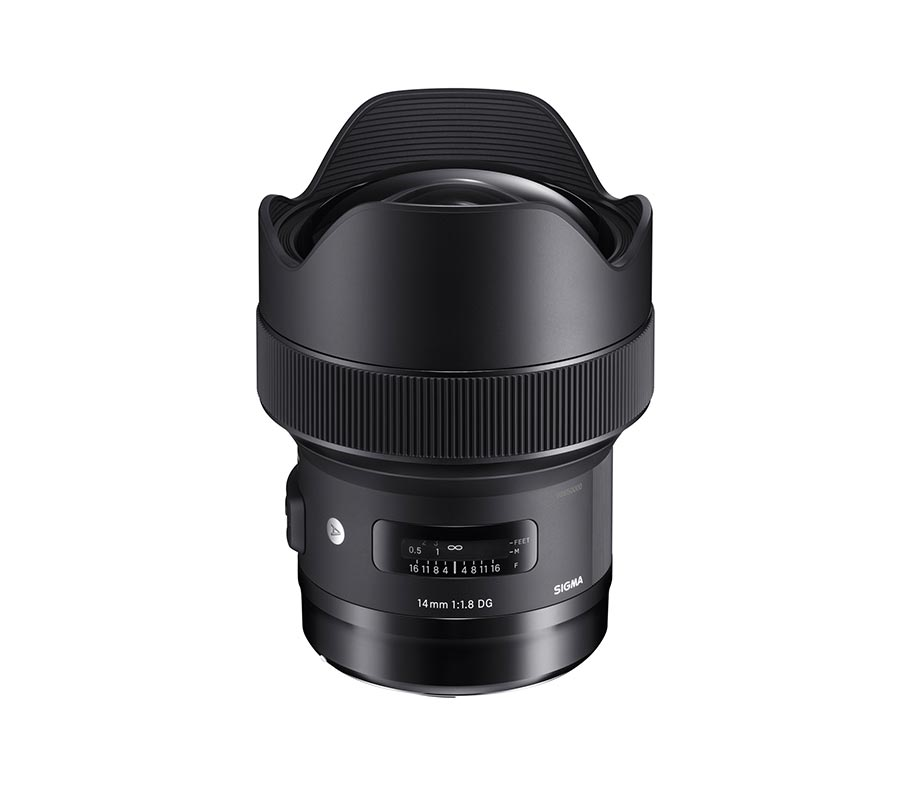 Sigma Lens 14mm F1.8 DG HSM (A) For Canon