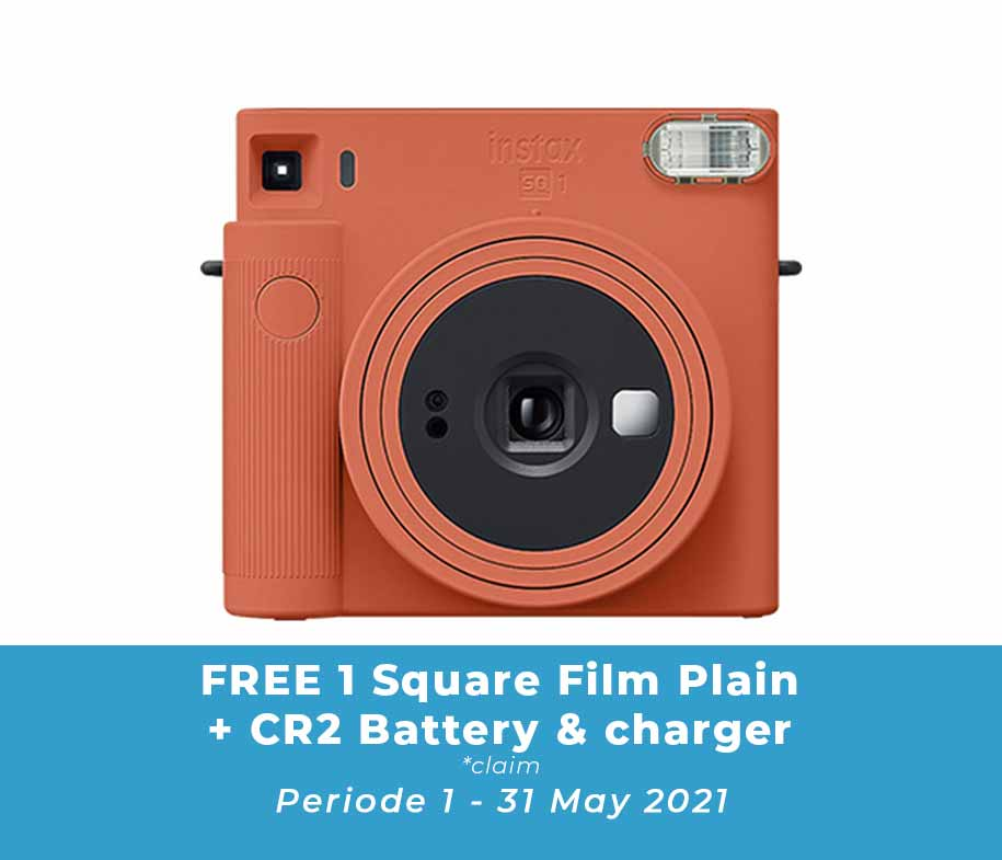 Fujifilm SQ1 Terracotta Orange