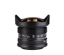7Artisan 7.5mm f2.8 for Sony E-Mount Black