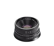 7Artisan Lens 25mm F1.8 For Canon EOS-M Black