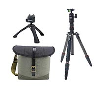 Fotopro Tripod X-go Carbon Matt Grey + Vanguard Veo Travel 2