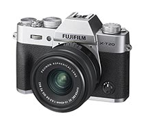 Fujifilm X-T20 Silver Kit 15-45mm + Instax SP2