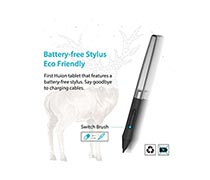 HUION Inspiroy Pen Tablet 640P free Battery