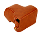 MYER Leather Case For Olympus EPL7 / EPL8 Brown