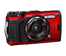 Olympus Digital Camera TG-6 Red