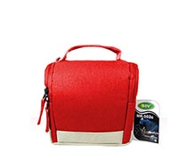 SDV Camera Bag MR 502 Canvas Red