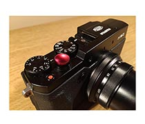 Shutter Button For Mirrorless Red