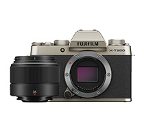 Fujifilm X-T200 Kit XC 35mm f/2 R (Gold)