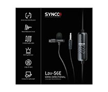 Synco Lav-S6E Clip On With Auto Input Detection 04