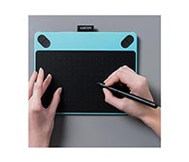 Wacom Intuos Comic Creative Pen and Touch Tablet CTH-490/B1-